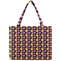 Cute Floral Pattern Tiny Tote Bags