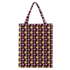 Cute Floral Pattern Classic Tote Bags