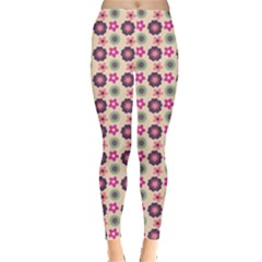 Cute Floral Pattern Women s Leggings