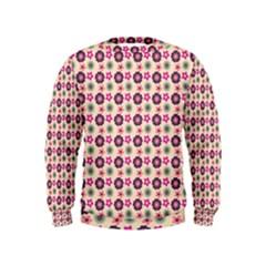 Cute Floral Pattern Boys  Sweatshirts