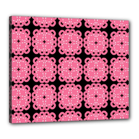 Cute Pretty Elegant Pattern Canvas 24  X 20