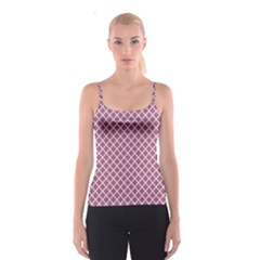 Cute Pretty Elegant Pattern Spaghetti Strap Tops