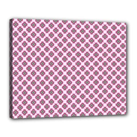 Cute Pretty Elegant Pattern Canvas 20  X 16
