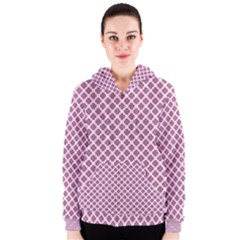 Cute Pretty Elegant Pattern Women s Zipper Hoodies