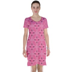 Cute Pretty Elegant Pattern Short Sleeve Nightdresses