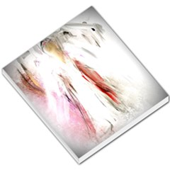 Abstract Angel in White Small Memo Pads