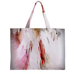 Abstract Angel in White Tiny Tote Bags