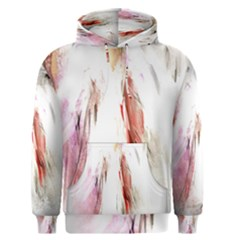 Abstract Angel in White Men s Pullover Hoodies