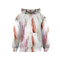 Abstract Angel In White Kid s Pullover Hoodies