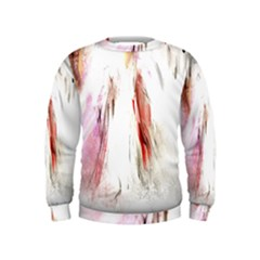 Abstract Angel In White Boys  Sweatshirts