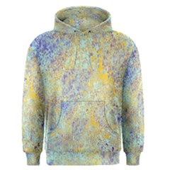 Abstract Earth Tones With Blue  Men s Pullover Hoodies