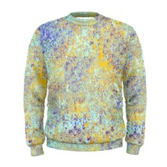 Abstract Earth Tones With Blue  Men s Sweatshirts