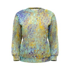 Abstract Earth Tones With Blue  Women s Sweatshirts