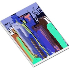 Abstract City Design Large Memo Pads
