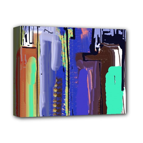 Abstract City Design Deluxe Canvas 14  x 11