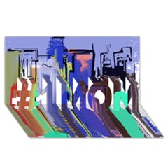 Abstract City Design #1 MOM 3D Greeting Cards (8x4)