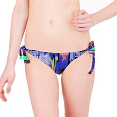 Abstract City Design Bikini Bottoms