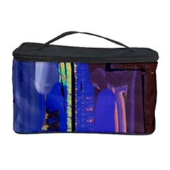 Abstract City Design Cosmetic Storage Cases