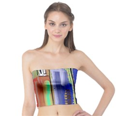 Abstract City Design Women s Tube Tops