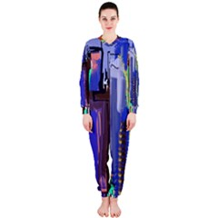 Abstract City Design Onepiece Jumpsuit (ladies)