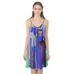 Abstract City Design Camis Nightgown