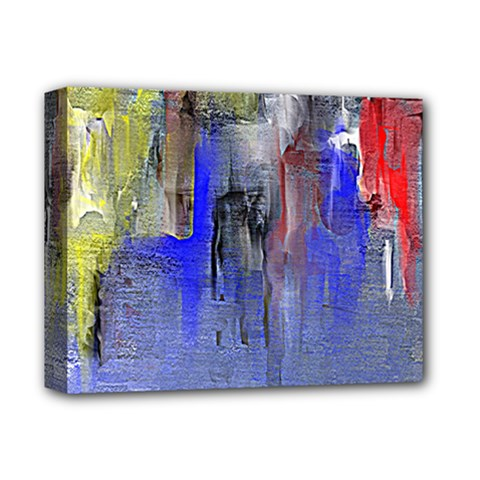 Hazy City Abstract Design Deluxe Canvas 14  x 11