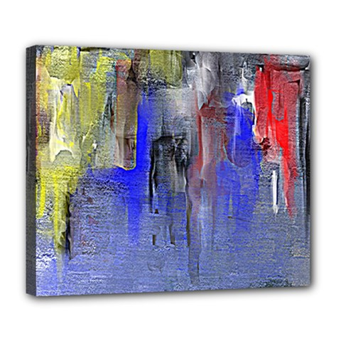 Hazy City Abstract Design Deluxe Canvas 24  X 20