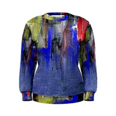 Hazy City Abstract Design Women s Sweatshirts