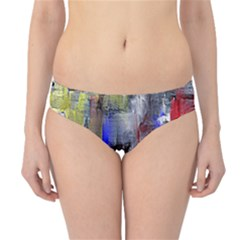 Hazy City Abstract Design Hipster Bikini Bottoms