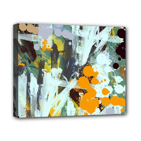 Abstract Country Garden Canvas 10  X 8