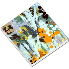 Abstract Country Garden Small Memo Pads