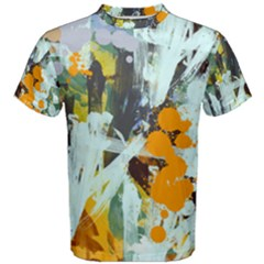 Abstract Country Garden Men s Cotton Tees