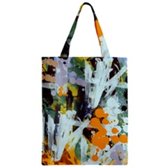 Abstract Country Garden Classic Tote Bags