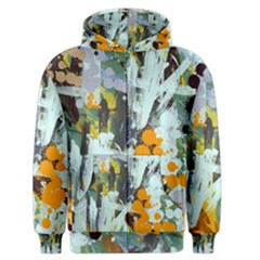 Abstract Country Garden Men s Zipper Hoodies