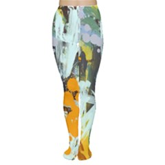 Abstract Country Garden Women s Tights