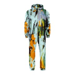 Abstract Country Garden Hooded Jumpsuit (Kids)