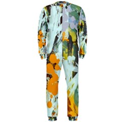 Abstract Country Garden OnePiece Jumpsuit (Men)