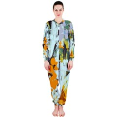 Abstract Country Garden OnePiece Jumpsuit (Ladies)
