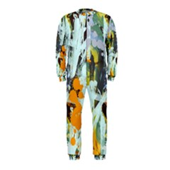 Abstract Country Garden Onepiece Jumpsuit (kids)