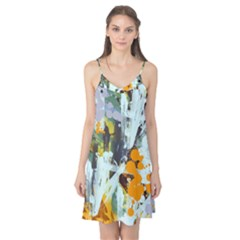 Abstract Country Garden Camis Nightgown