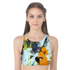 Abstract Country Garden Tank Bikini Top