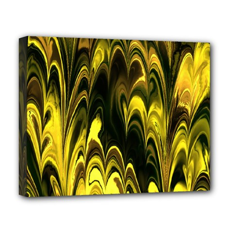 Fractal Marbled 15 Deluxe Canvas 20  X 16