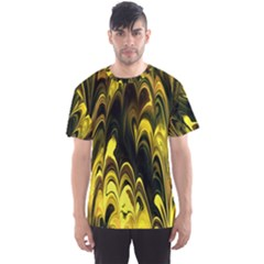 Fractal Marbled 15 Men s Sport Mesh Tees