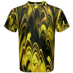 Fractal Marbled 15 Men s Cotton Tees