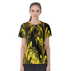 Fractal Marbled 15 Women s Cotton Tees