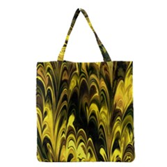 Fractal Marbled 15 Grocery Tote Bags