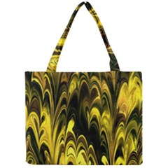 Fractal Marbled 15 Tiny Tote Bags