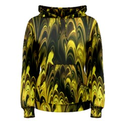 Fractal Marbled 15 Women s Pullover Hoodies