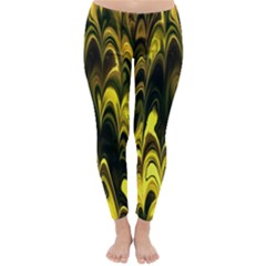 Fractal Marbled 15 Winter Leggings