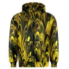 Fractal Marbled 15 Men s Zipper Hoodies